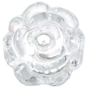 Glass Rose Knob